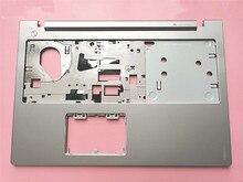 Новый оригинальный чехол для ноутбука Lenovo Ideapad Z510 с серебристым металлическим корпусом с тачпадом и без тачпада AP0T2000500