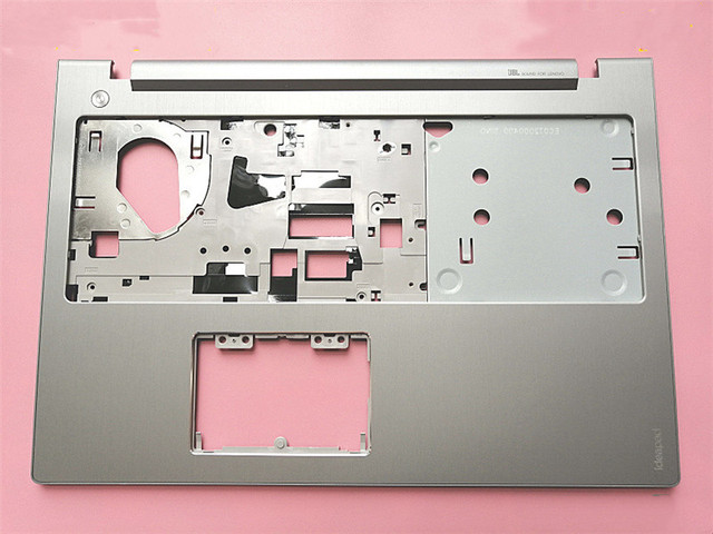 New original for Lenovo Ideapad Z510 laptop C shell Silver metal brushed case with touchpad and without touchpad AP0T2000500