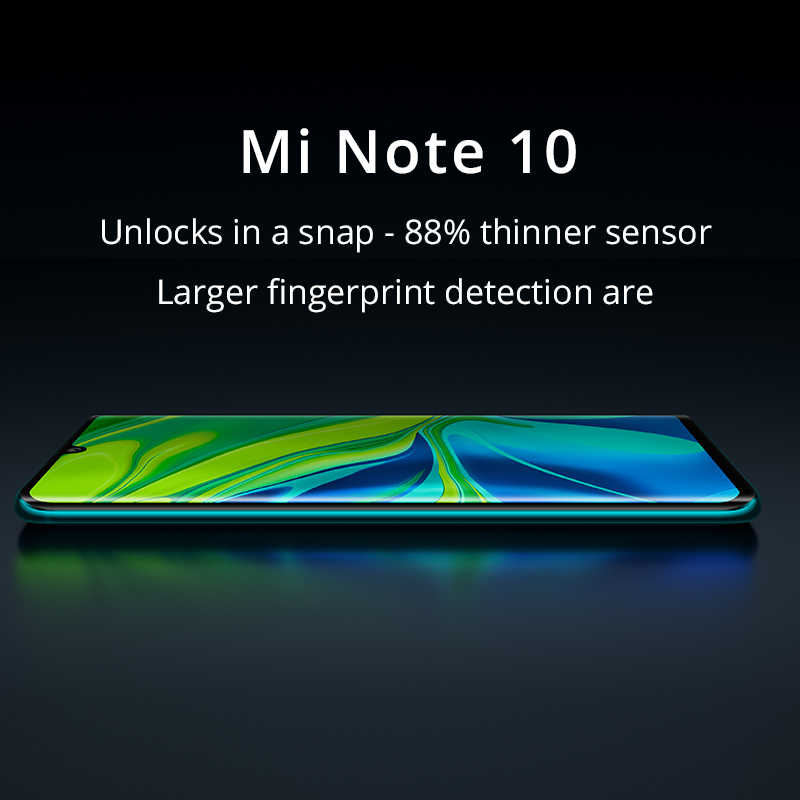 Globale Version Xiaomi Mi Hinweis 10 6GB 128GB 108MP Penta Kamera Smartphone Snapdragon 730G 5260mAh 30W Schnelle 6.47 ''AMOLED Display