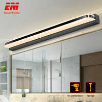 LED Mirror Light 40/50cm 9W/12W AC220-240V Waterproof Modern Cosmetic Acrylic Wall Lamp For Bathroom Light sconce lamp ZJQ0004