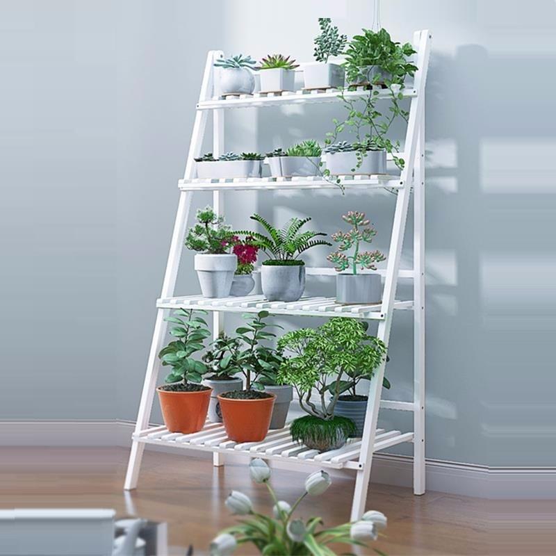 Huerto Urbano Madera For Estanteria Escalera Pot Repisa Para Plantas Wood Indoor Rack Outdoor Stand Balcony Flower Plant Shelf