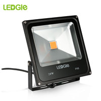 LEDGLE 20W LED Floodlight 220V 230V 240V COB LED Flood Lights 6000K Outdoor Floodlights IP66 reflector Outdoor Wall Washer Lamp