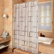 Rideau de douche pour salle de bain, 3D étanche, résistant aux moisissures, drap de porte de toilette environnemental