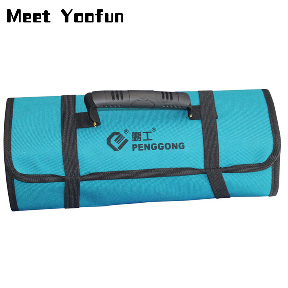 Reel Tool Storage Bag Handbag Electrician Bag Oxford Cloth Storage Bag