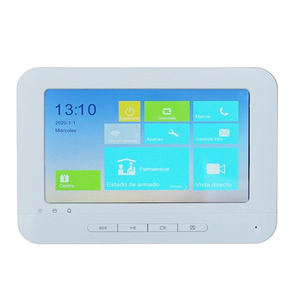 Купить с кэшбэком HIK IP Video intercom KIT Bundle,Multi-language HD,RFID Panel and WiFi monitor,IP doorbell door phone,waterproof