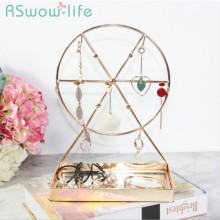 18*11*25cm Creative Dream Windmill Jewelry Rack Storage Tray Pendant Display Stand Small Trays Decorative Serving