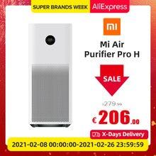 Xiaomi Mi – purificateur d'air Pro H, stérilisateur intelligent OLED, nettoyeur à formaldéhyde, Purification avec filtre H13, application + contrôle AI