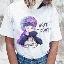 Kpop T Shirt JIN SUGA J HOPE Women JIMIN V JUNGKOOK Top Tshirt for K pop Korean
