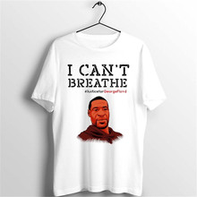 LUSLOS NEW Arrive George Floyd I Can't Breath Graphic Tees S