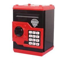 Caja de dinero electrónica con voz inteligente para niños, Mini máquina ATM de ahorro de depósito seguro, regalo para niños