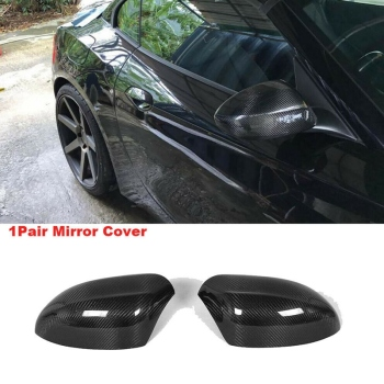 NEW-Car Carbon Fiber Side Rear View Mirror Covers Cap For-Bmw Z4 E89 2009-2015 image