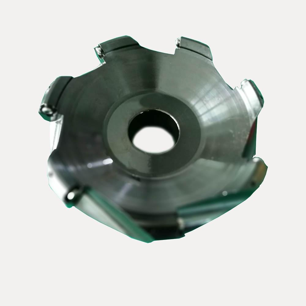 Купить с кэшбэком New 1pcs 7flute KM12 160-40-7T 160MM 45 Degree Face End Milling Cutter CNC Milling