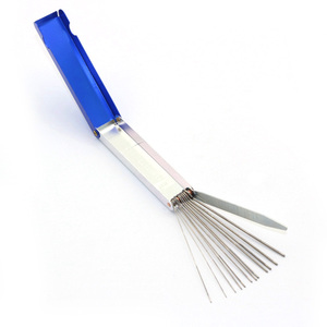 1 Set Carburetor Jets Cleaning Tool Needles Brushes Set For Motorcycle Carb Jet Clean tools(China)