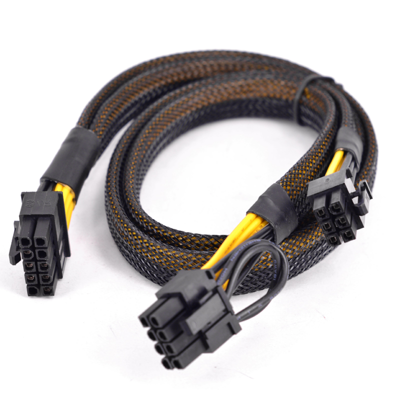 10 Pin to PCI-e 6+2 Pin 8 Pin Power supply cable For HP ProLiant DL380 G6 G7 Server Motherboard PCI express Graphics Card Cable image
