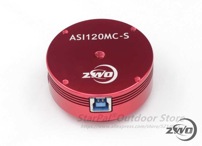 Фотокамера ZWO ASI120MC-S USB 3,0 (цветная), астрономическая камера ASI, планетарный Солнечный лунный образ, гидирующий высокоскоростной USB3.0 ASI120MC 120MC