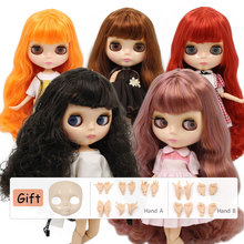 ICY DBS lalki Blyth dostosowane 1/6 bjd naga lalka z naturalna skóra wspólne Body błyszcząca twarz dla prezent dla dziewczynki i chłopca zabawki