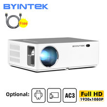 BYINTEK K20 Full HD 1080P 3D Smart Android Wifi 300 pulgadas Juego de cine en casa LED proyector de vídeo pantalla proyector para 4K de cine