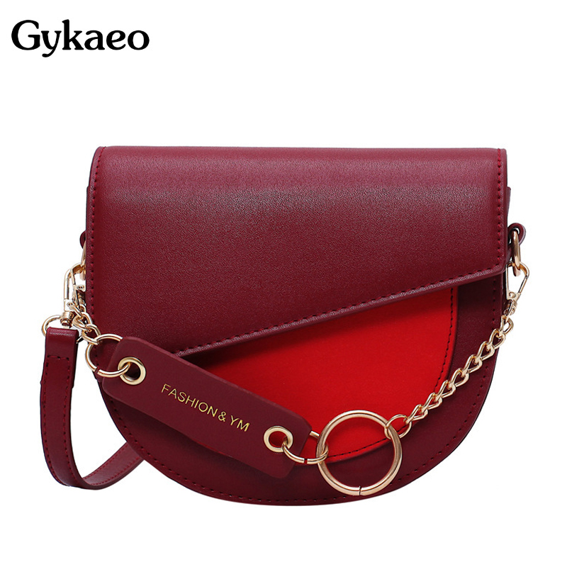 Woman Small Shoulder Bag Ladies PU Leather Fashion Flap Crossbody Bags For Women Saddle Messenger Bag 2020 Summer Clutch Purse