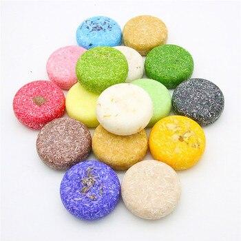 12 colors Fashion Handmade Hair Shampoo Soap Cold Processed Shampoo Bar 100% Pure Plant Hair Shampoos Hair Care 1