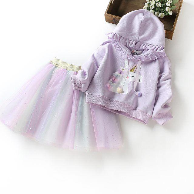 2020 Baby Girl Fashion Clothing Set Cute  Dress girls Infant Elegant Clothes Sets Children Party Birthday Wear 10