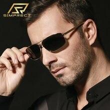 Simprect 2020 Алюминиевый магний поляризационные очки солнцезащитные