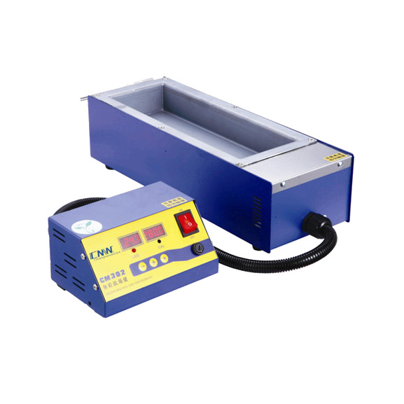 Square High Temperature Lead Free Soldering Pot Split Tin Solder Furnace Tin Melting Digital Display 220V 110V CM302 600C 1500W