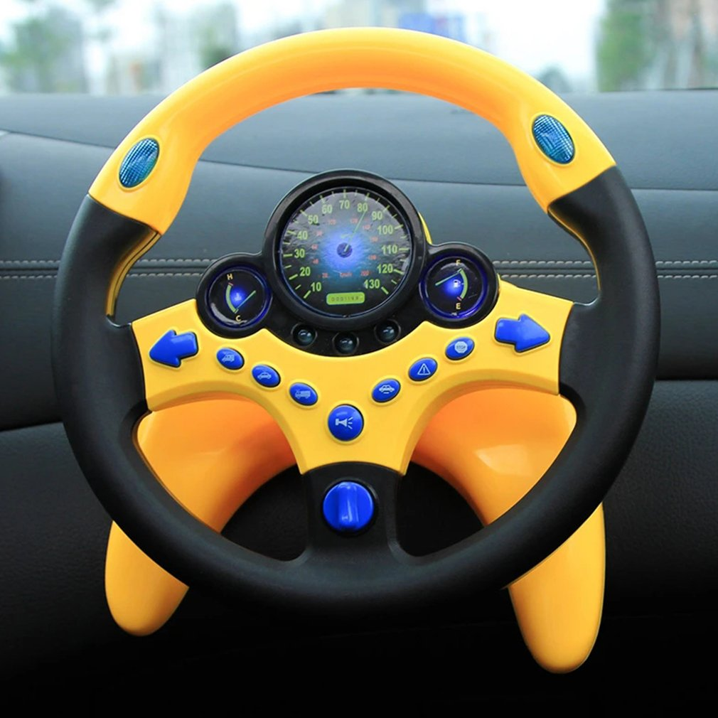 Steering Wheel Toys Add Driving Pleasure Funny Imitation And Pleasant Driving Fun Educational Toy 1 Pcs Hot!