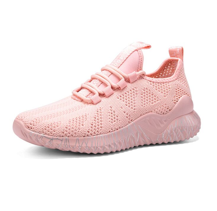 Image 4 - 2020 New Spring Big Size Lover Casual Air Mesh Breathable Chaussure Femme Sneakers Sport Platform Shoes For Women Zapatos MujerWomens Vulcanize Shoes   -