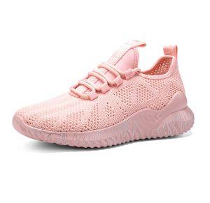 Image 4 - 2020 neue Frühjahr Große Größe Liebhaber Casual Air Mesh Atmungsaktive Chaussure Femme Turnschuhe Sport Plattform Schuhe Für Frauen Zapatos Mujer