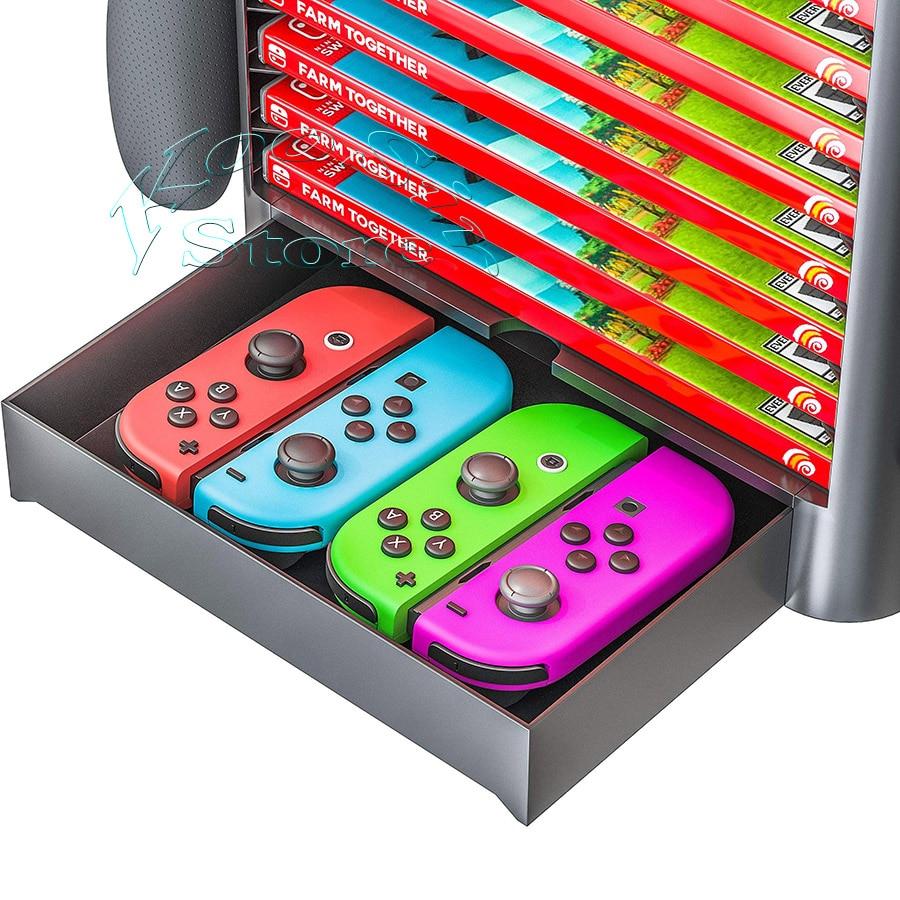 Stojalo za shranjevanje dodatkov za konzolo Nintendo Switch Nintendo - Igre in dodatki - Fotografija 4