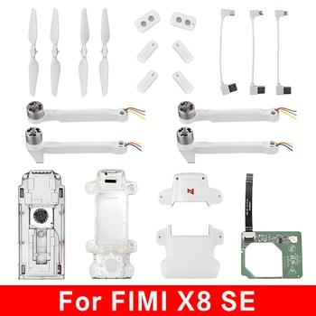 Original FIMI X8 SE batería Motor brazo Hélice para Dron de control remoto Shell cuerpo de aterrizaje de Cable de fecha espaà A/IMU ECS/Módulo de brújula