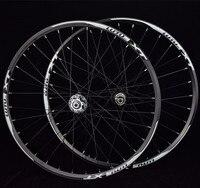 Lutu xt mtb 산악 자전거 자전거 24 인치 wheelset 전면 2 후면 4 밀폐형 베어링 휠 더블 림 디스크 브레이크