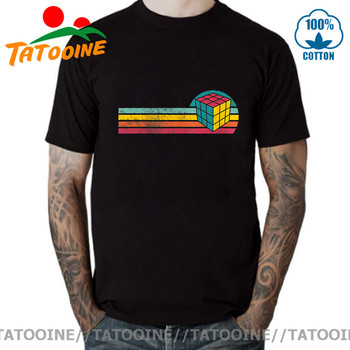 Tatooine Vintage Style Rubik Magic Cube T shirt Best Gift for Teenage Boys Retro Square T-shirt 2020 Latest Summer Apparel - discount item  46% OFF Tops & Tees