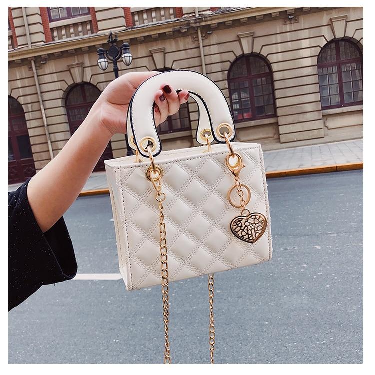 petit sac à main blanc détails du produit