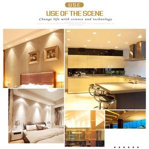 Image 4 - 1 adet 5w 7w 9w 12w 15w kısılabilir sürücüsüz su geçirmez LED tavan downlight ışık 110V 220V LED Downlight lamba ev için/kapalı