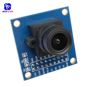 Image 4 - Le Module de caméra diymore OV7670 300KP prend en charge linterface I2C Compatible avec laffichage du contrôle dexposition automatique VGA CIF 640X480 pour Arduino