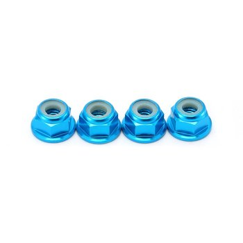 RC Car Wheel Lock Nut Aluminum Alloy Car Sets/Kit Wheel Hardware for RC Hobby Model Car 1/10 Axial SCX10 Crawler image