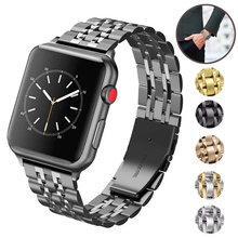 Stainless Steel Band For Apple Watch 4 Band 42mm Bracelet for Iwatch Series 1/2/3 42mm Strap for Iwatch Series 4 40mm 44mm