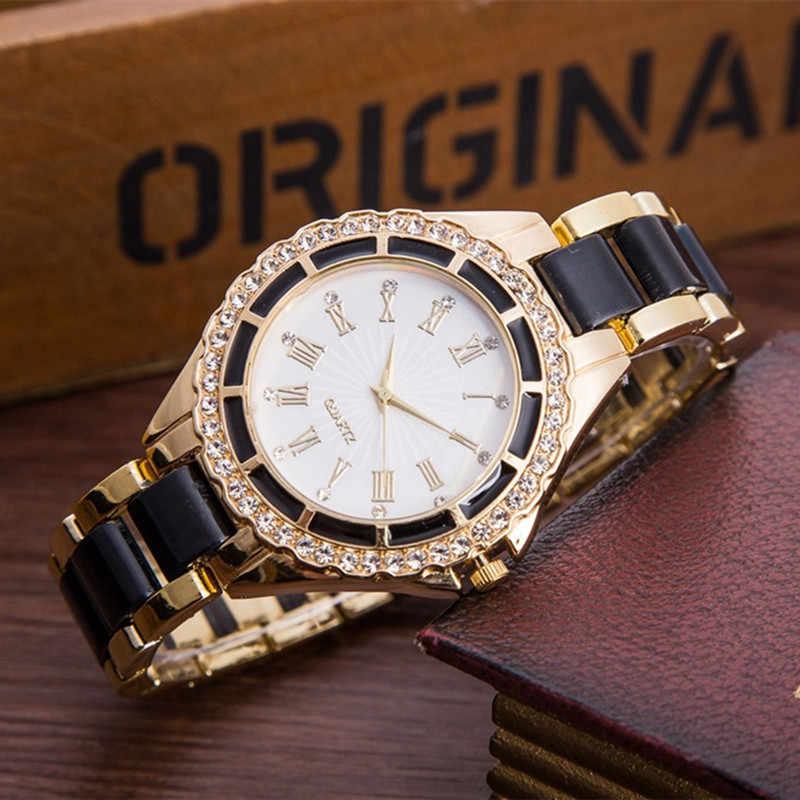 2020 נשים שעונים יוקרה יהלומי קוורץ שעוני יד לנשים אופנה מזדמן אישה שעון יד נשים אלגנטי נשי שעון