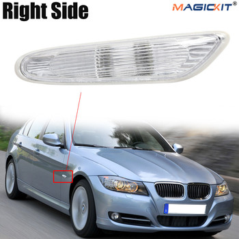 MagicKit For BMW 3 Series E88 E90 E91 E92 E93 LCI Non-LED Clear Side Repeater Driver Side image