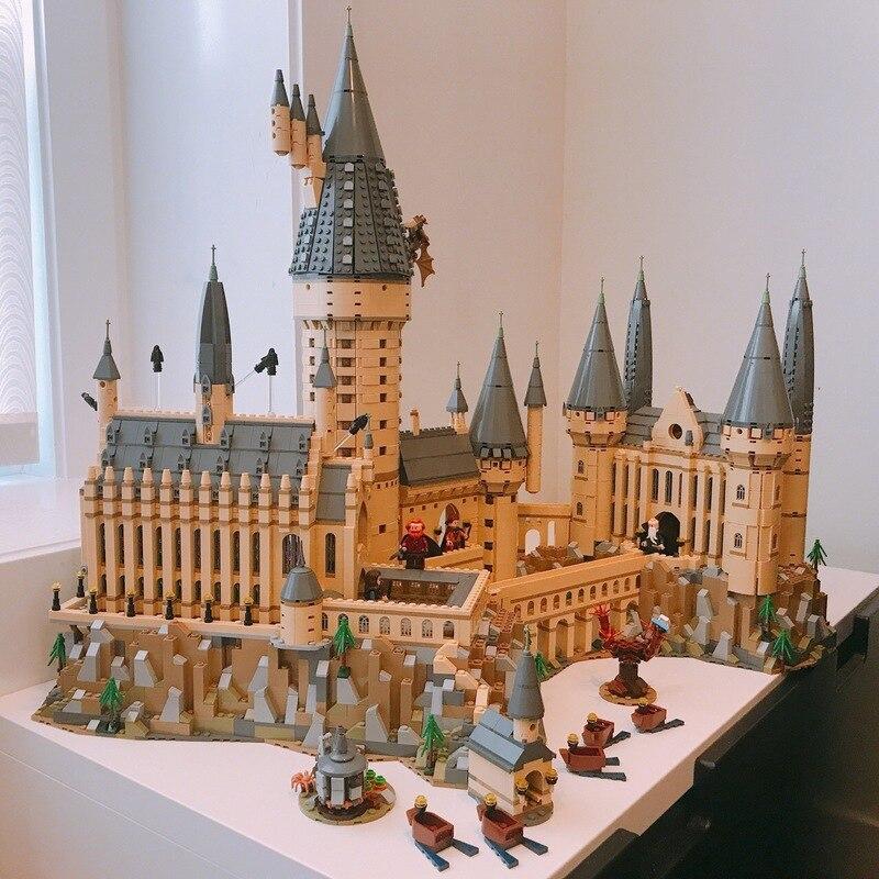 6742 pièces compatibles legoinglys 16060 château modèle film château modèle magique bloc de construction briques jouets enfants cadeau ville 71043 - 2