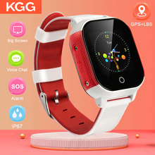 цена на new Smart Baby Watch IP67 Waterproof Children SIM Card Touch Screen GPS WIFI SOS Tracker Kids Alarm Clock Anti-Lost Smartwatch
