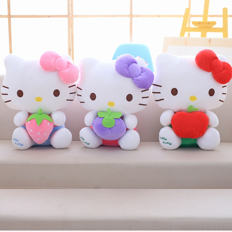 Explosion Fruit KT Cat Doll Doll Cat Fruit World Cute Plush Toys Super Cute Hello Kitty Ragdoll Girl Sleeping On The Star Festiv
