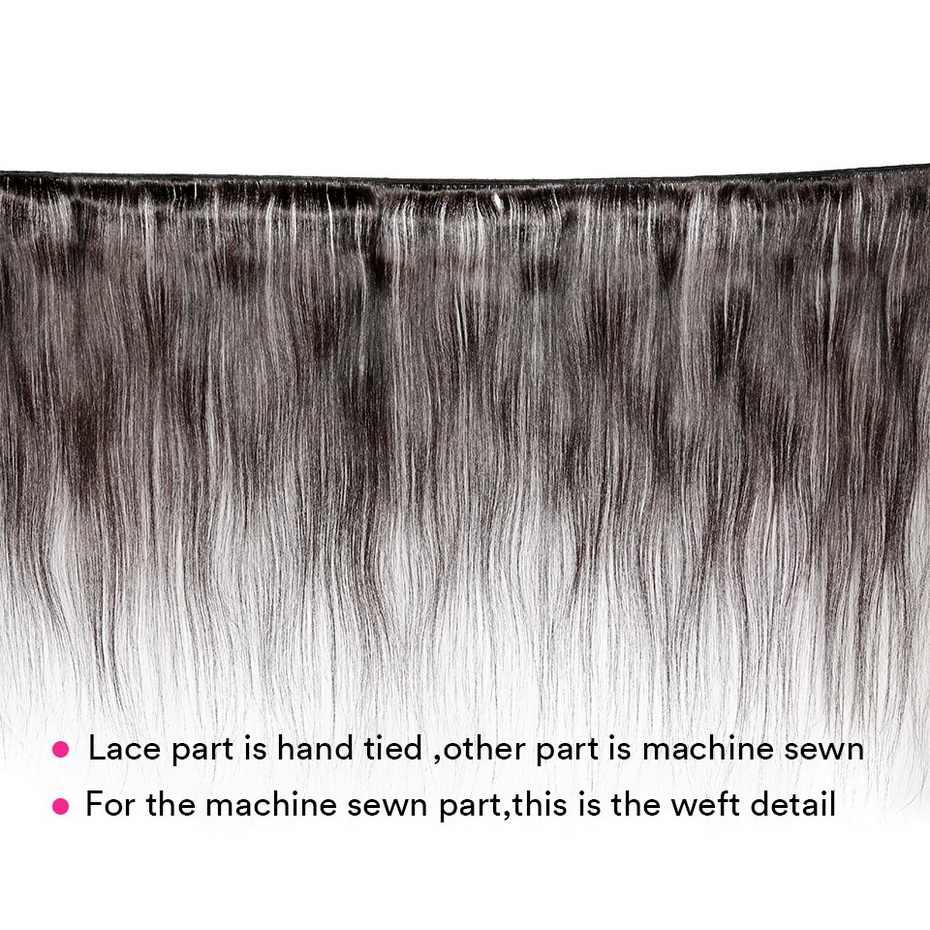 MS لولا وهمية فروة الرأس شعر مستعار 13 × 4 13 × 6 الدانتيل الجبهة خصلات الشعر المستعار البرازيلي شعر ريمي طويل مستقيم الشعر عقدة غير مرئية اللون الطبيعي