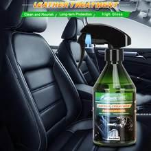 Agente de limpeza do reparo do risco do pulverizador do revestimento nano do polonês hidrofóbico do auto do agente de recauchutagem de borracha interior do carro 260ml e plástico