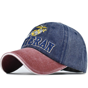 washed cotton men fishing baseball cap fitted snapback hat for women gorras casual casquette embroidery letter retro