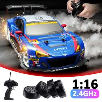 RC Car 4WD Drift Racing Car Championship 2.4G Off Road Radio Remote Control Vehicle Electronic Hobby Toys 1