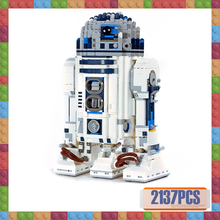 10225 Star Wars Series R2-D2 Robots Compatible with Lepines 05043 Assembly Building Blocks Bricks Children Toys Gifts star wars series the republic cruiser war 7665 building blocks 963pcs bricks compatible with legoings toys