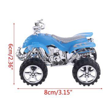 Simulación de Mini inercia extraíble, motocicleta de playa de 4 ruedas, vehículo, modelo de Motocross, juguete educativo para niños QX2D