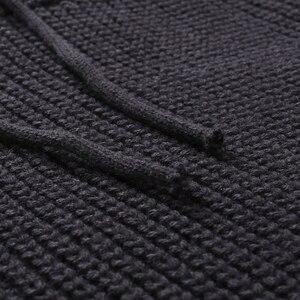 Image 5 - חדש חורף גברים אופנה מזדמן סוודר mens להתחמם סריגי סוודר גולף מוצק צבע סוודר לגברים מעיל בתוספת גודל